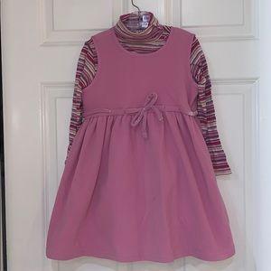 NWT GAP Fleece Dress & T-Neck Sz5
